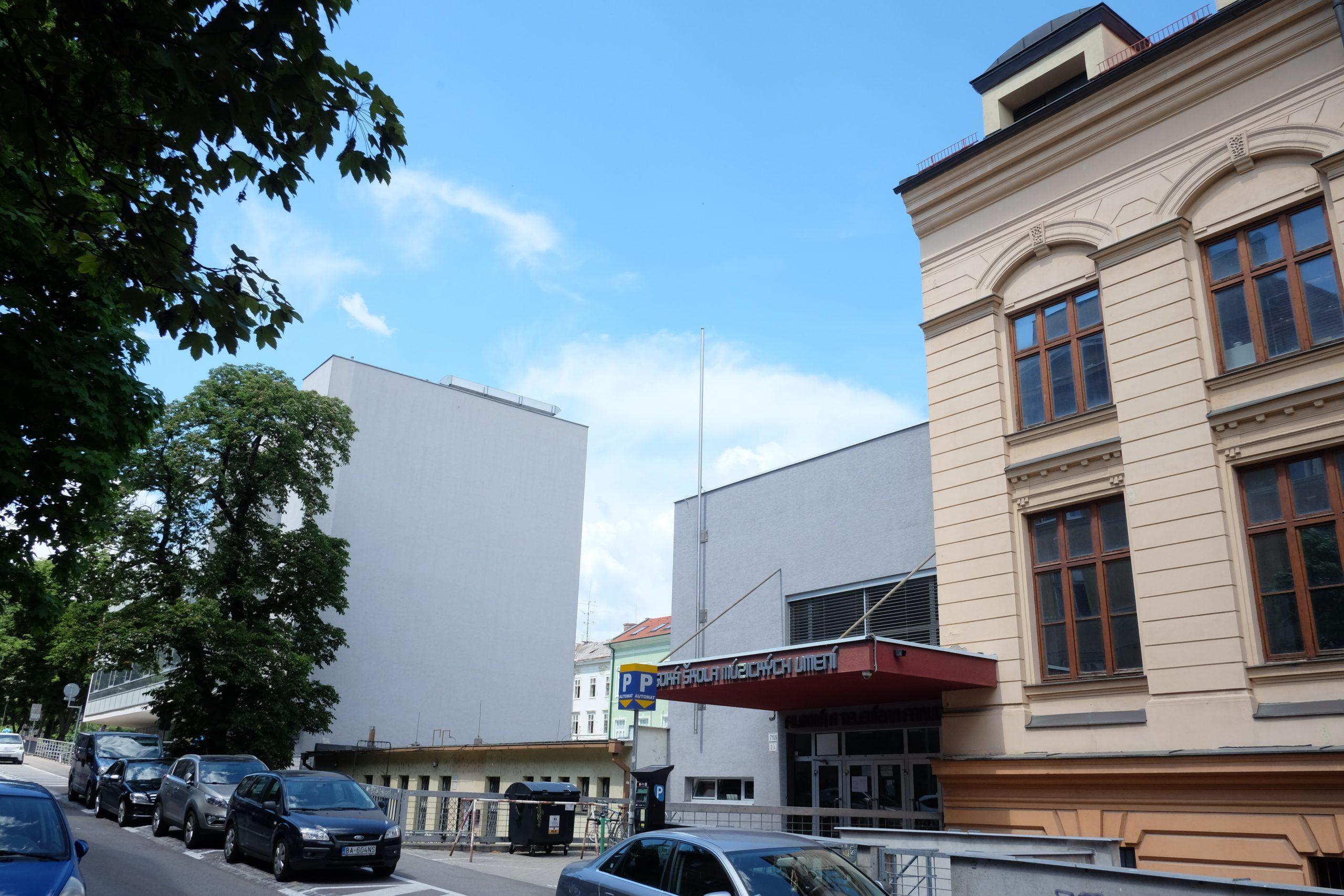 """Vyhlásenie súťaže 23/2021 """"Dostavba komplexu Vysokej školy múzických umení na Svoradovej ulici vBratislave"""""""